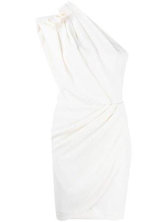 IRO draped one-shoulder dress