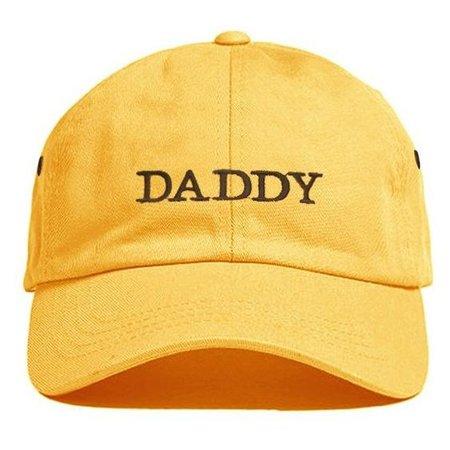 DADDY HAT YELLOW MJN ORIGINALS