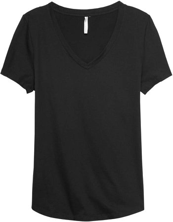 SUPIMA Cotton V-Neck T-Shirt
