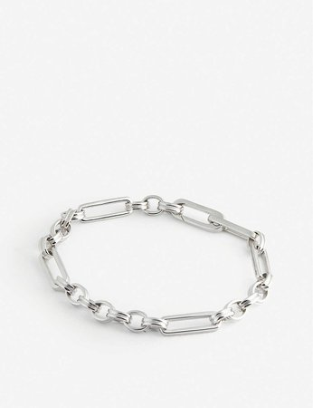 MISSOMA - Axiom sterling silver-plated chain bracelet | Selfridges.com