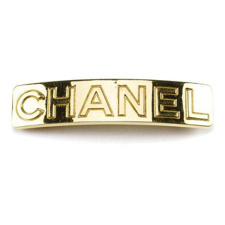 chanel hair clips