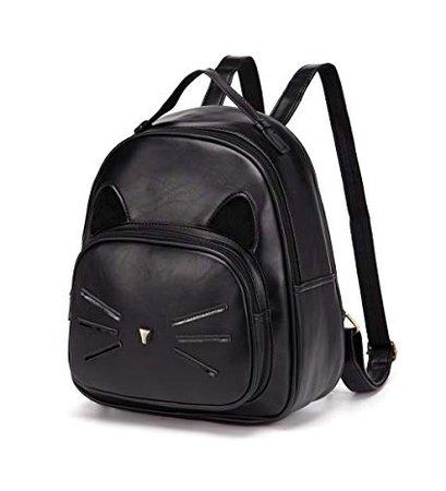 Amazon.com: DIOMO Mini Women Backpacks Cute Cat Kids Girls Daypack Rucksack Small Bags (Mini, Black): Shoes