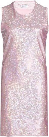 Saks Potts Vision Glittered Vinyl Mini Dress