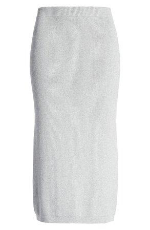 Open Edit Rib Sweater Skirt | Nordstrom