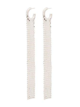 Paco Rabanne Pixel Chainmail Earrings - Farfetch