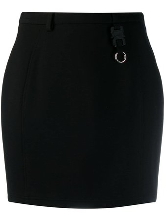 Black 1017 Alyx 9Sm Fitted Mini Skirt | Farfetch.com