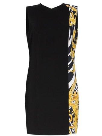 Versace Savage Barocco Insert Dress | Farfetch.com
