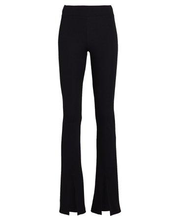 Nylora Damien Split Hem Rib Knit Pants | INTERMIX®