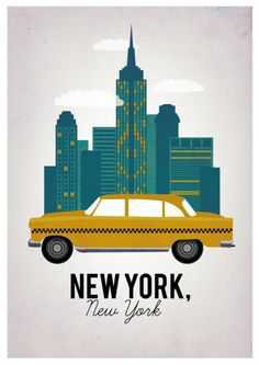New York Taxi - Pinterest
