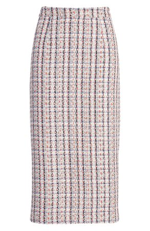 Halogen® Tweed Pencil Skirt (Regular & Petite) | Nordstrom