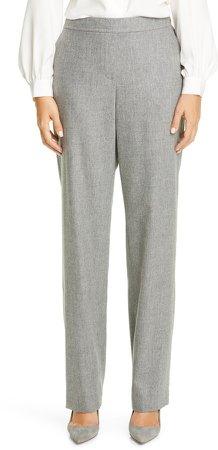 Fulton Elastic Waist Wool Blend Pants