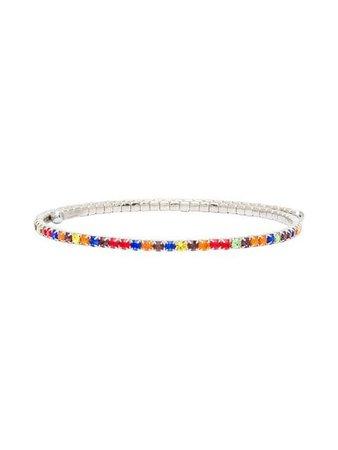Miu Miu multicoloured crystal choker