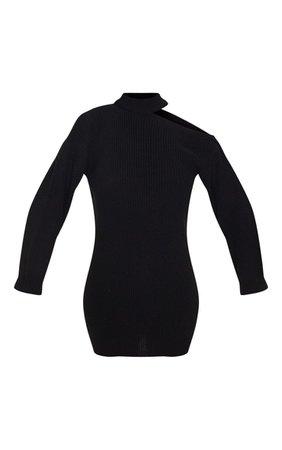 Black Choker Detail mini Dress | PrettyLittleThing USA