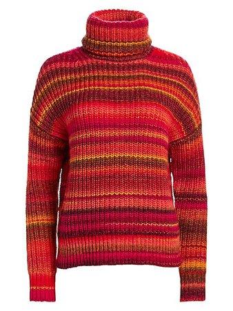 Altuzarra Kelley Stripe Turtleneck Sweater | SaksFifthAvenue