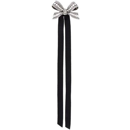 Lanvin Bow Design Brooch