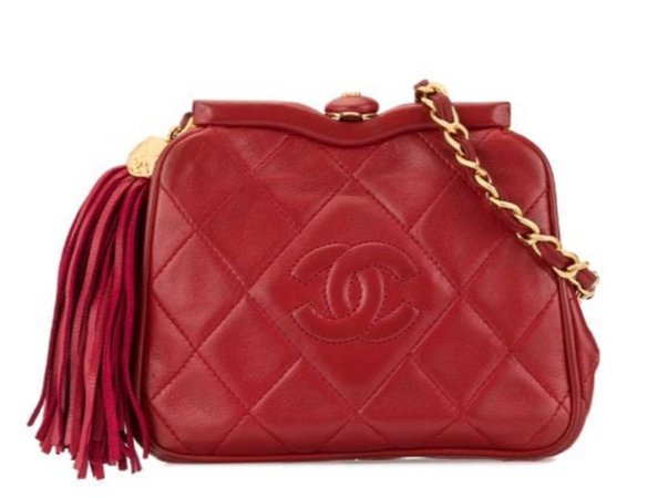 'Chanel 89-'91 fringe belt bag