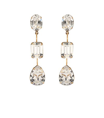 Allanah Crystal-Embellished Earrings - Jennifer Behr | Mytheresa