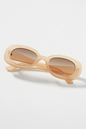 Alabama Rectangular Sunglasses   Anthropologie