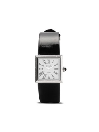 Chanel Pre-Owned 1989 pre-owned Mademoiselle 25mm - Farfetch