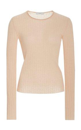 Ribbed-Knit Cashmere Sweater by Vince | Moda Operandi