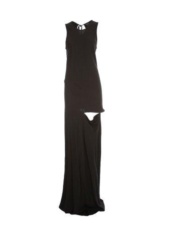Ann Demeulemeester Rivale Dress W/s Viscose