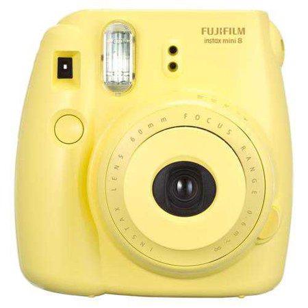 Câmera Instantânea Fujifilm Instax Mini 8 Amarela - Câmeras no Fuji