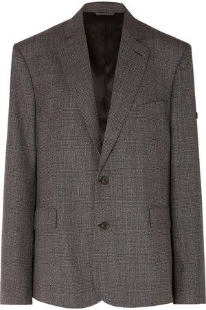 Balenciaga | Prince of Wales checked wool blazer | NET-A-PORTER.COM