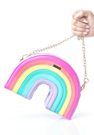 Rainbow Shaped Pastel Purse