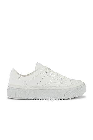ALLSAINTS Trish Sneaker in Chalk White   REVOLVE