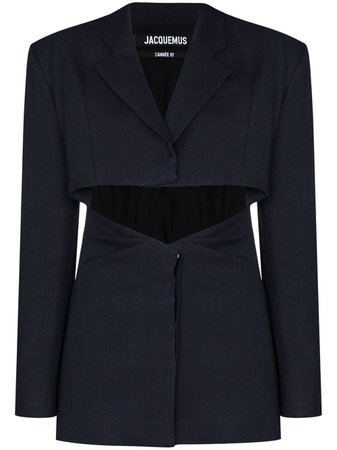 Jacquemus single-breasted cut-out Blazer - Farfetch
