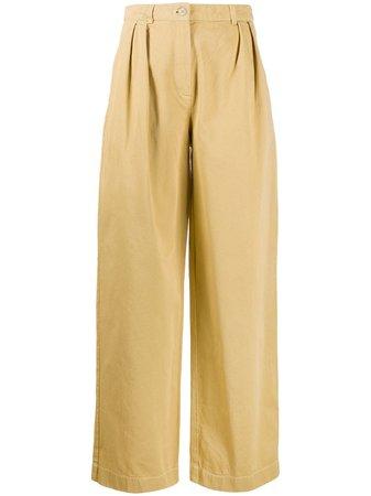 Acne Studios double-pleat Trousers - Farfetch