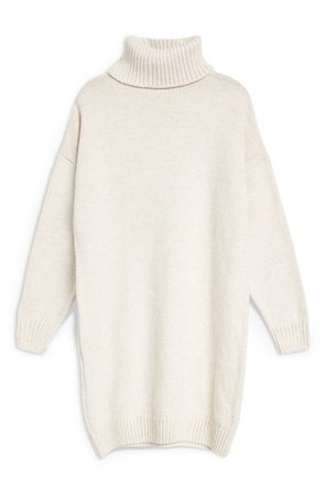 Topshop Turtleneck Sweater Dress   Nordstrom