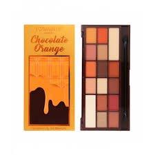 chocolate orange palette