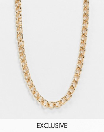 Reclaimed Vintage Inspired classic chunky chain necklace | ASOS