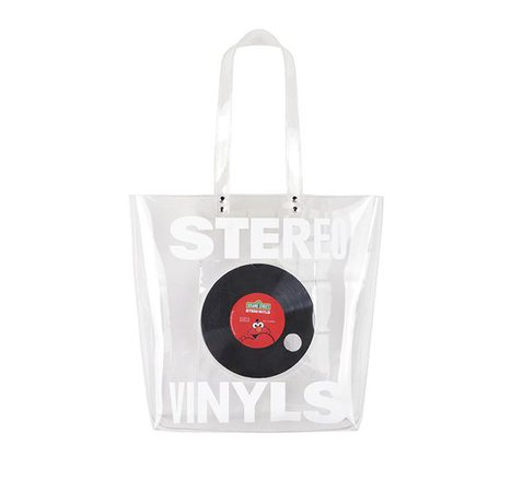 Clear PVC Bag Stereo Vinyls