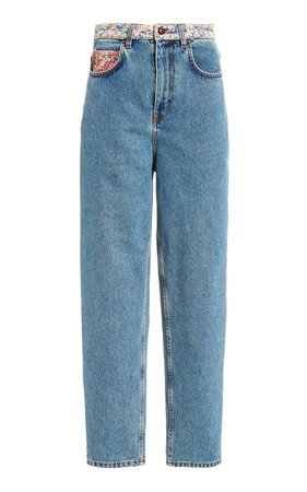 Liberty Rigid High-Rise Straight-Leg Jeans by Philosophy di Lorenzo Serafini | Moda Operandi