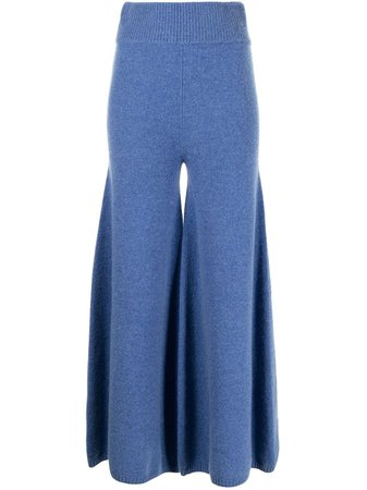 Khaite, Rachelle wide-leg wool trousers