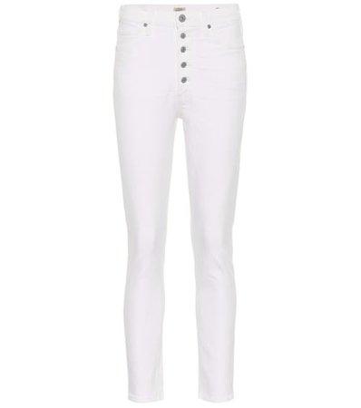 Olivia high-rise skinny jeans
