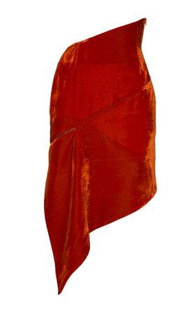 large_situationist-orange-asymmetric-silk-velvet-skirt.jpg (1598×2560)