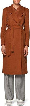 Blake Belted Wool Coat