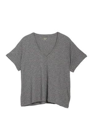 Madewell   V-Neck Short Sleeve T-Shirt   Nordstrom Rack