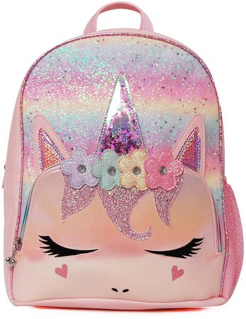 OMG Flower Crown Miss Gwen Unicorn Backpack