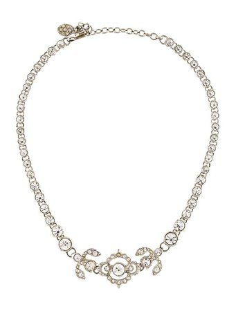 Christian Dior Crystal Choker Necklace - Necklaces - CHR93326 | The RealReal