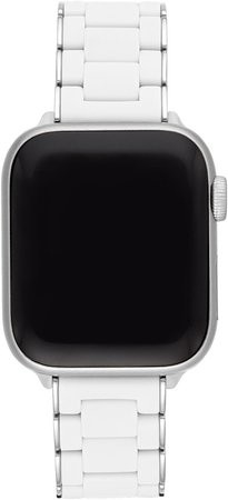 Apple Watch(R) Wrapped Silicone Bracelet Strap
