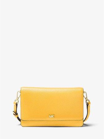 Pebbled Leather Convertible Crossbody Bag | Michael Kors
