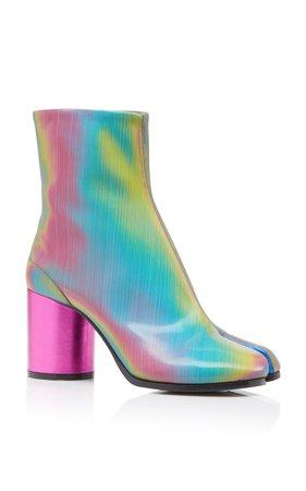 Tabi Hologram Ankle Boots by Maison Margiela | Moda Operandi