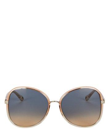 Chloé Oversized Butterfly Sunglasses | INTERMIX®