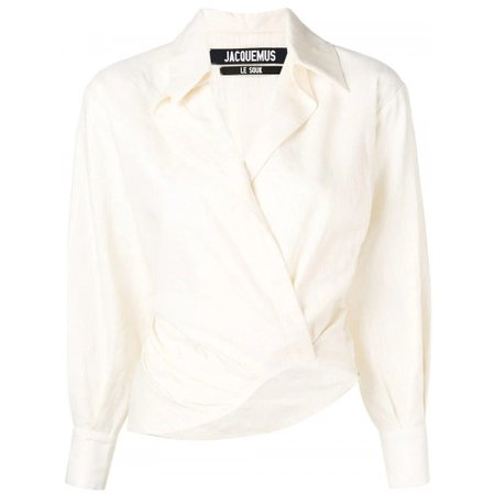 Shop Jacquemus Layered effect shirt   The Webster