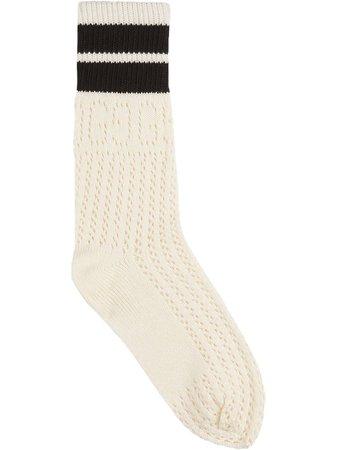 Gucci stripe-detail socks