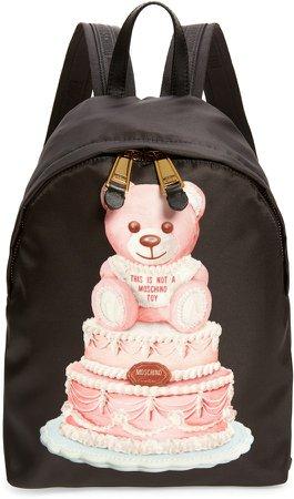Teddy Bear Cake Backpack
